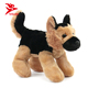 High quality stuffed animal dog plush german shepherd