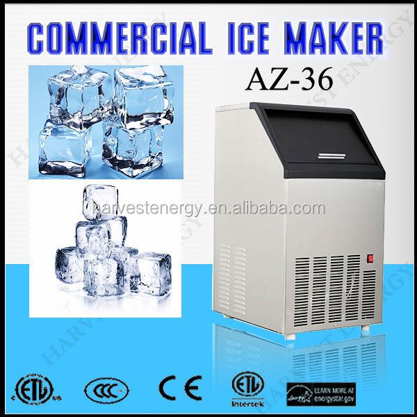 Commercial Lighting Az: Az-36 Newest Design Commercial Tube Ice Maker Price
