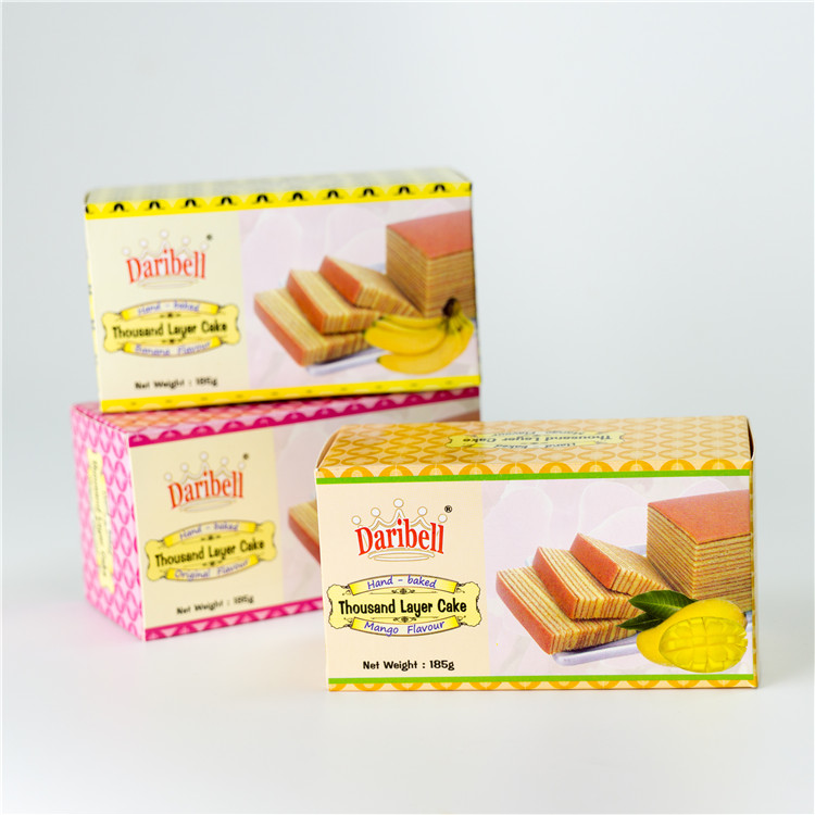 Singapore Food Suppliers Thousand Layer Cake mango flavor