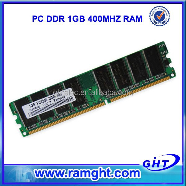 RMA less than 1% Tested Cheap 2 pieces 2x1GB desktop 2gb ram ddr pc3200