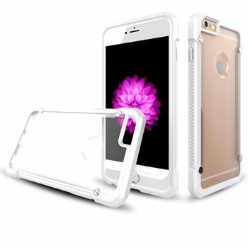 2016 New Arrival Luxury Ultra Thin Transparent Mobile Phone Case for iPhone 6