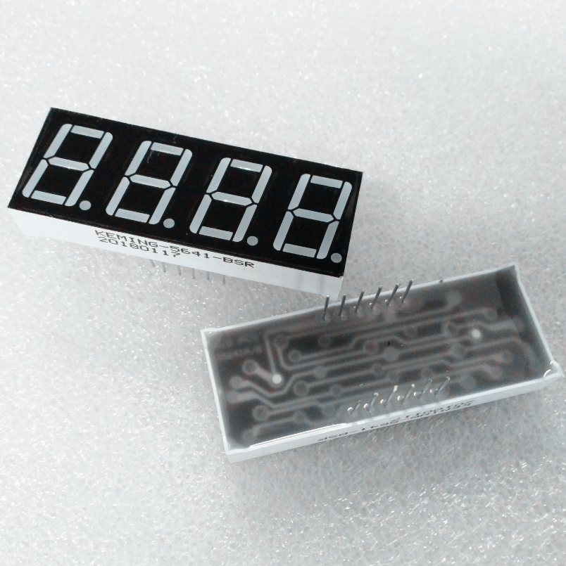 Indicative Display Of <strong>Led</strong> Of Seven Segments 7 Segment Display 4 Digit 0 56 Inch Common Anode super green