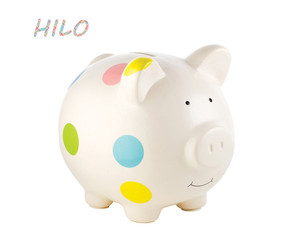 wholesale custom ceramic coin bank Makes a Perfect Unique Gift, Nursery Decor, Keepsake for kids