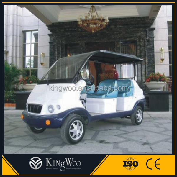 Kingwoo 48V battery 4 seater electric club car