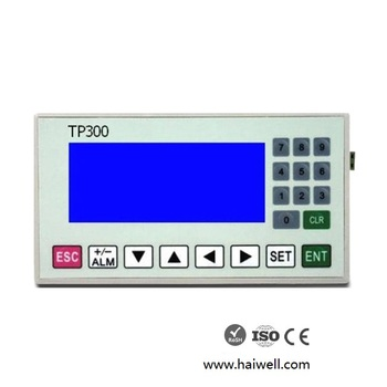 New design Haiwell TP300 programmable high definition LED text display for PLC