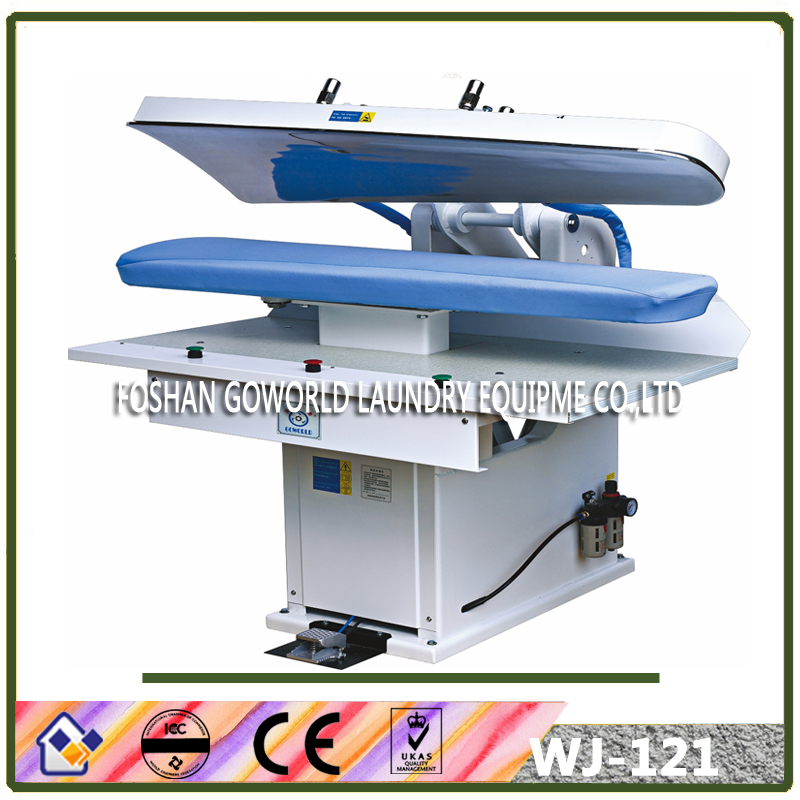 laundry steam press machine,mushroom shape design