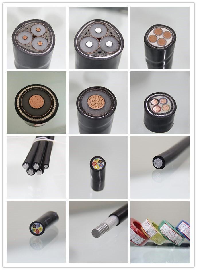 Pvc/vpe-isolierte Multi Core Elektrische Kabel Größe 16mm2 25mm2 ...