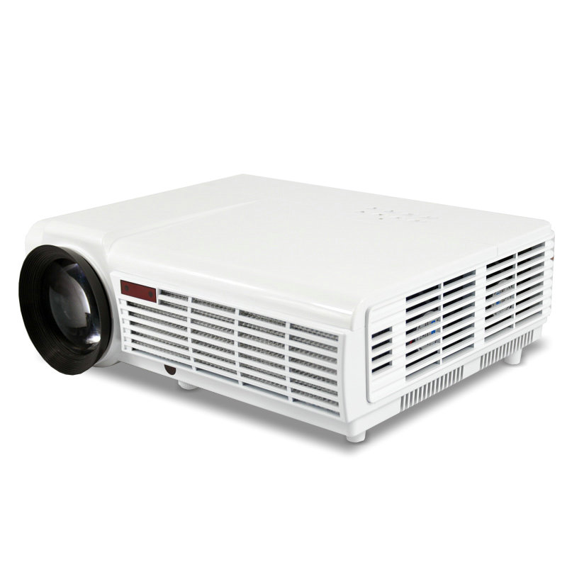 Best price 3000 lumens HD led96 htp projector with wifi/4.4 android