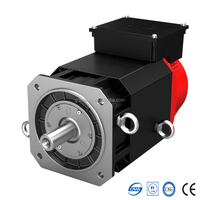 20HP 95.5N.M 15KW 3 Phase AC Servo Spindle Electric Motor With Brake