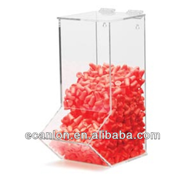 manufacturing acrylic candy nut dispenser