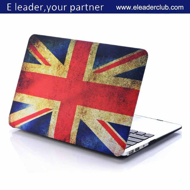 flag plastic case for laptop apple macbook pro