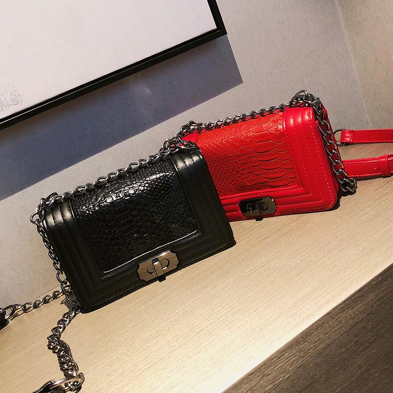 Wholesale Women Diamond Chain Bag Small Leather Cute Sling Handbag 8489cb7208883