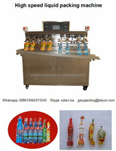 3000bags/hour pure water bottle shape bag/pouch sachet filling sealing packing machine