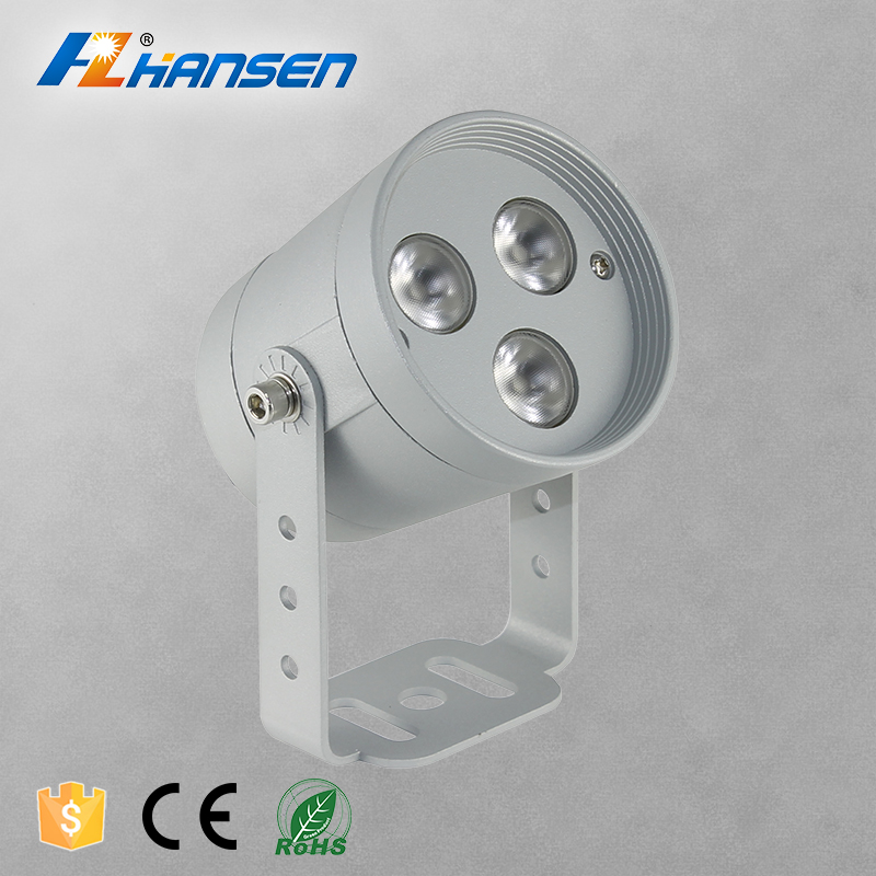 Hansen Lighting 6W led outdoor spotlights in led die-cast Aluminum Housing