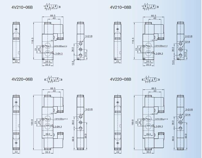 HTB18m4gJFXXXXXBXVXXq6xXFXXXR 4v210 08 two position five way pneumatic solenoid valve buy airtac 4v210-08 wiring diagram at soozxer.org