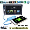 Car Radio support rear camera bluetooth FM USB 2 din 6 6 inch USB port stereo