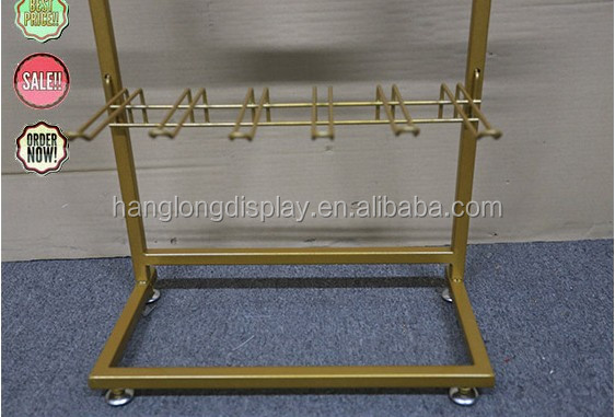 Metal mcosmetics store metal display stand