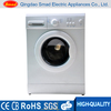 freestanding portable front loading automatic clothes washing machine
