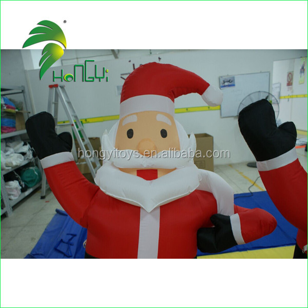Hongyi Cheap Inflatable Santa Clause Custom Inflatable Christmas Decoration For Event