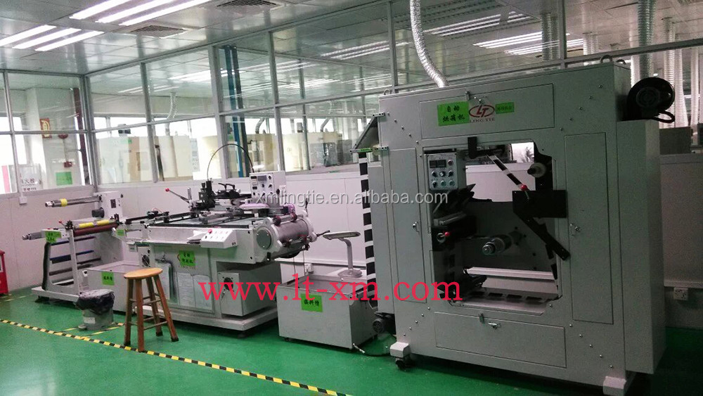 Automatic SilkScreen Printing machine of PVC,PET,PP,PC,PE,BOPP etc all kinds of films