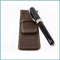 Hign Quality and Vintage Handmade Leather Pen and Pencil Case