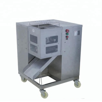 800kg/h Automatic Electric Butcher Meat cutting machine, Chicken breast meat slicer