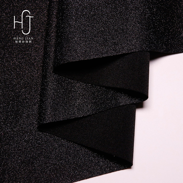 2018 new fabric 4 way stretch polyester leather fabric for leggings