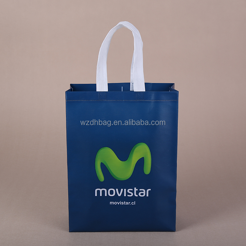 Lowest Price 70gsm Non Woven Tote Bag For Mall Shopping In Stock