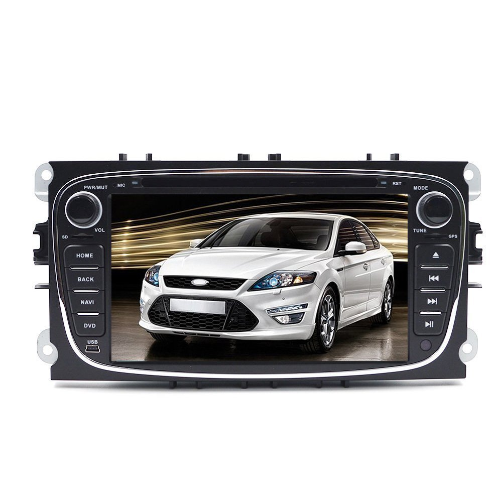 Get Quotations · Tmaxlife 7 inch Double Din In Dash Android 4.4 Kikat Quad  Core Car Radio Stereo for 914d428a4ae9
