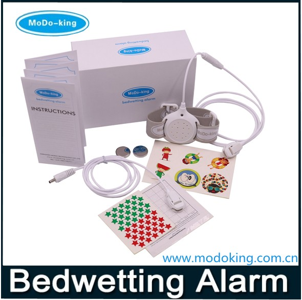 Unique deisgn & Smallest & lightest Security Nocturnal Enuresis Alarm Let You and Children Have a Good Sleep