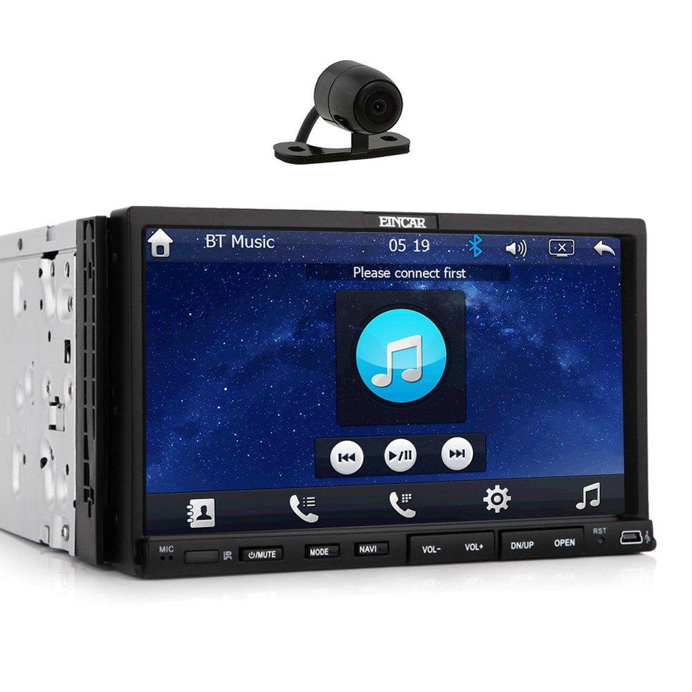 free backup camera car dvd cd player gps sat navigation fastest 800mhz car stereo radio bt 7. Black Bedroom Furniture Sets. Home Design Ideas