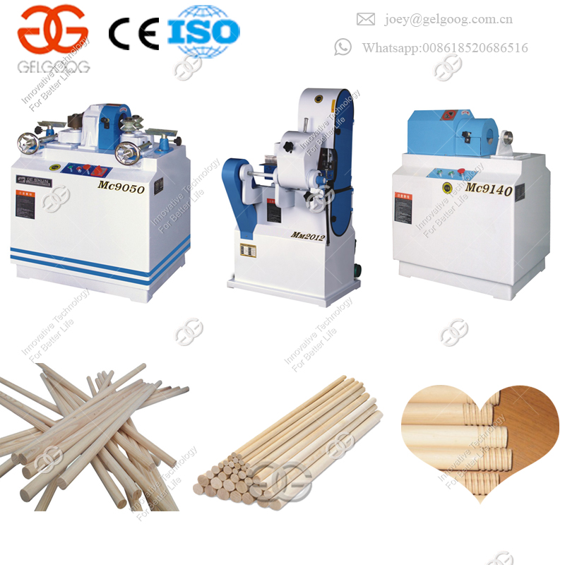 High Quality Cheap Price Completely Automatic Stainless Steel Stick Molding Wood Rod Rounding Machine