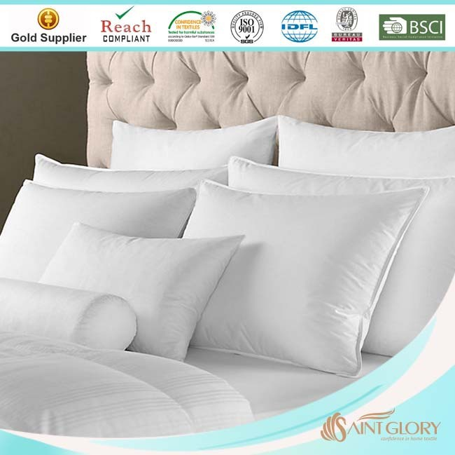 wholesale hotel siliconized polyester fiber pillow inner, pillow inserts