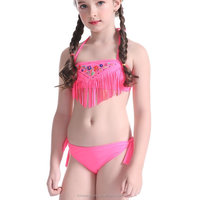Factory Custom Wholesale Swimsuit Private Logo Kids Swimwear Girls