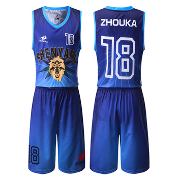 2c15344b05ca Latest sublimated basketball tops unisex blue blank mesh basketball jerseys  cheap basketball singlet wear