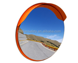 Cheap Traffic Driveway Wide Angle Security Safety Curved Convex Road Mirror (PC/PMMA/Stainless Steel)