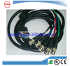 High speed 3.5m dvi / vga to 3 bnc / rca cable with iso9001
