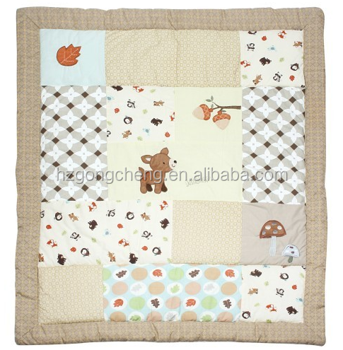 a6e9c18f666d4 Baby Quilt Design With Cute Deer Lovely For Unisex Baby - Buy Baby Quilt  Design,Hand Quilted Baby Quilts,Baby Quilt Material Product on Alibaba.com