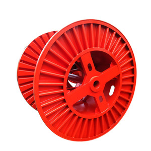 Corrugated Steel Reel Cable Spool Drum Empty Spool For Electrical Wire