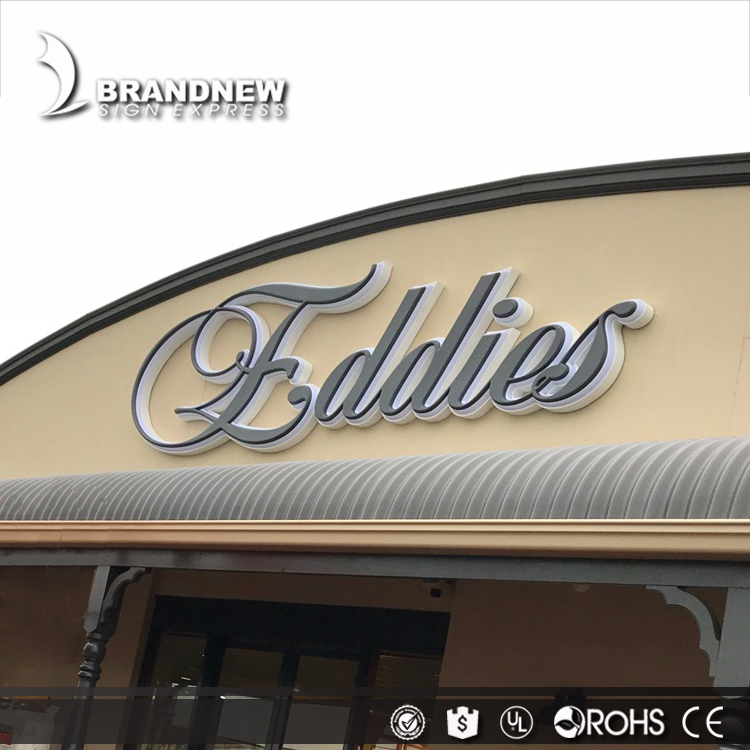 Decoration plastic acrylic alphabet 3d small letter for indoor outdoor signage