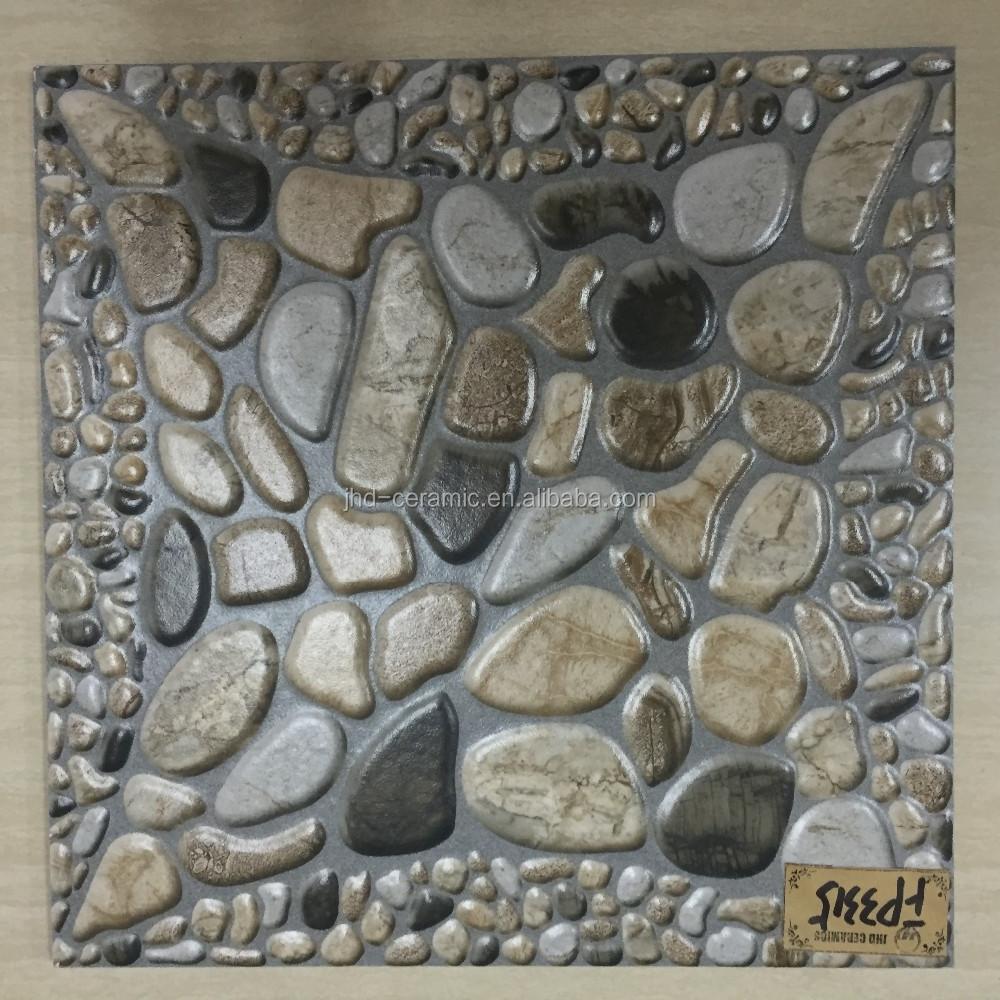 Shiny or matt ceramic floor tiles look like stones 400400mm buy shiny or matt ceramic floor tiles look like stones 400400mm dailygadgetfo Gallery