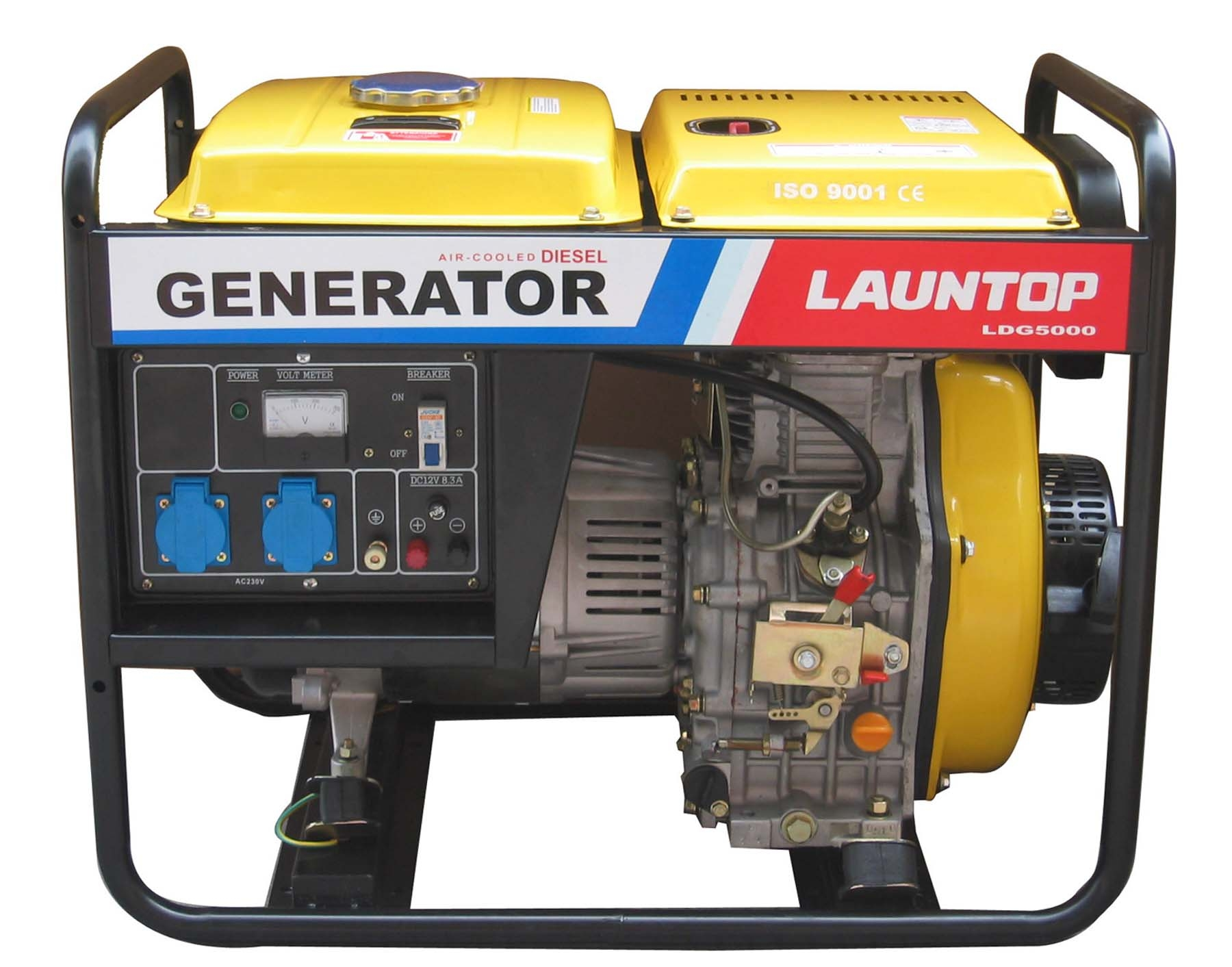 3 3kw Portable Diesel Generator With Air cooled 4 stroke Engine