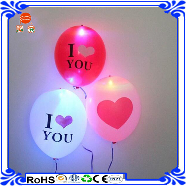 2015 Hot Sale Colourfull LED balloon Light up Led ballon Led Glowing balloons