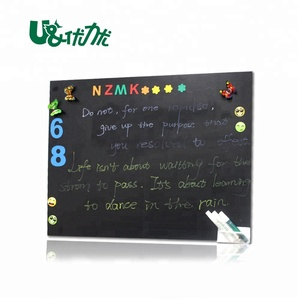 Writing and drawing flexible kids chalkboard