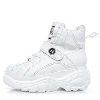 Zapatillas De Tacón Grueso Para Mujer,2020,Plataforma Plana,Calzado De Papá Para Mujer,Zapatillas De Entrenamiento De Suela Gruesa,Zapatos De Moda
