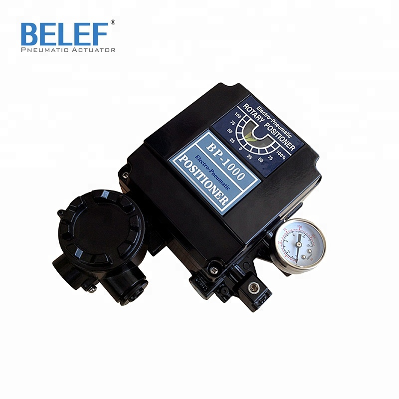 Control valve positioner 4~20mA with feedback pneumatic linear E/P