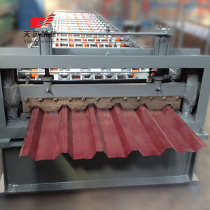 High Rib Portable Roofing Sheet Profiling Roll Forming Machine