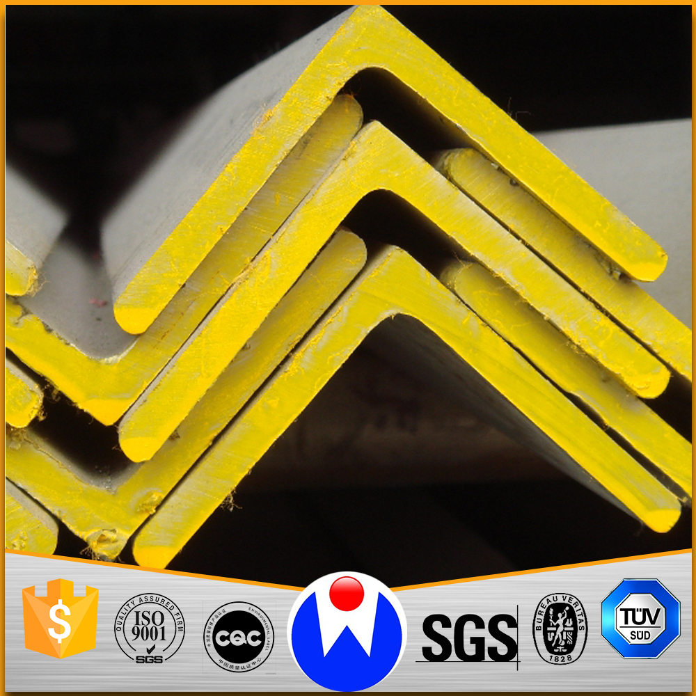 Africa Hot Sale Low Price Hot Rolled Mild Steel MS Steel Angle Bars with Universal Sizes