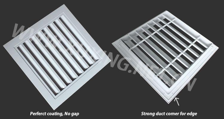 Ventilation Air Conditioner Vent Air Intake Louver Vent