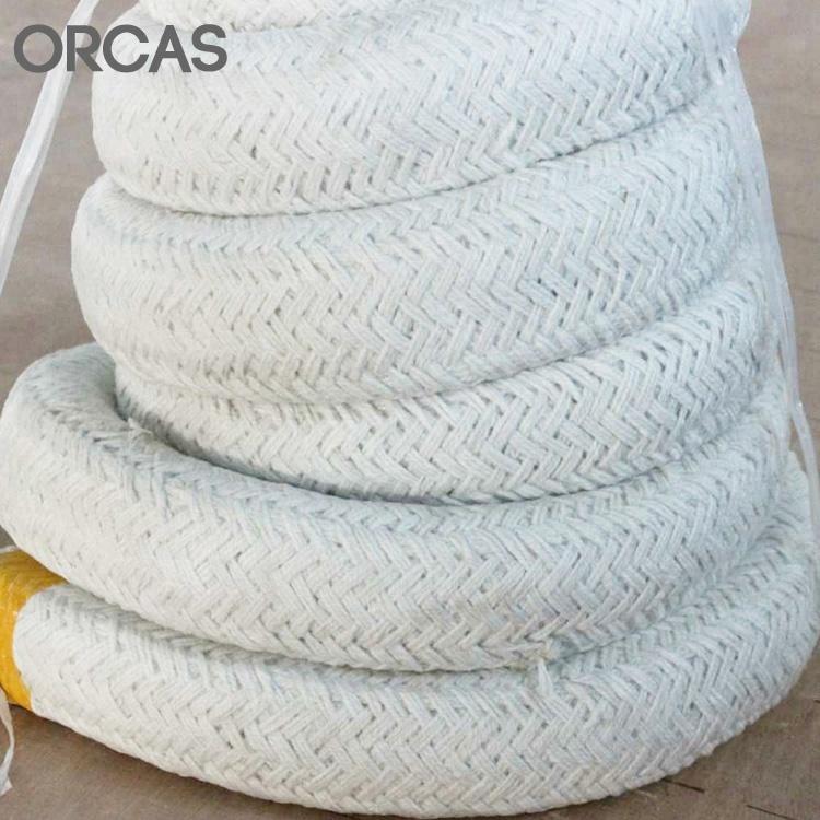 Lowes fire proof insulation square rope type ceramic fiber square rope